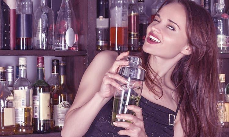 Barの女性