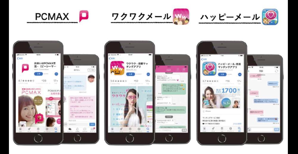 ママ活で使用するマッチングアプリ