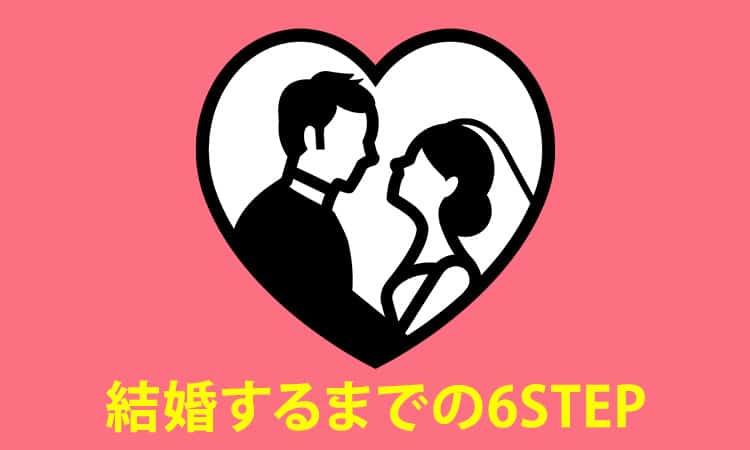 日本仲人協会で結婚するまでのステップ
