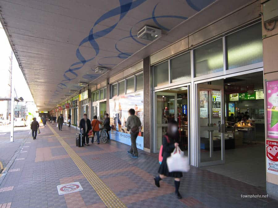 新潟駅 万代口前/ストリート