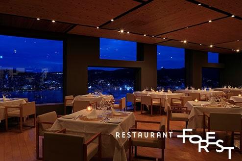 レストランフォレスト ガーデンテラス長崎ホテル&リゾート