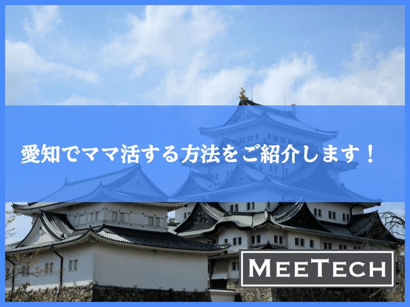 愛知・名古屋でママ活をしたい人必読!おすすめのアプリからデートポットまで紹介!